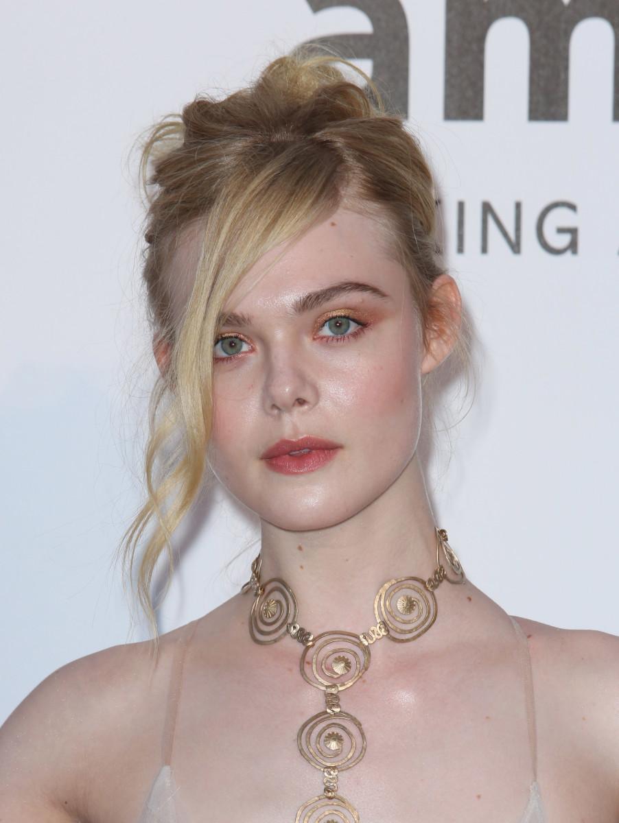 Elle Fanning, Cannes amfAR Gala 2016