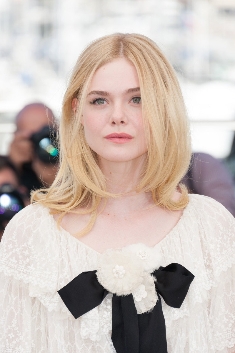 Elle Fanning, The Neon Demon Cannes photocall, 2016
