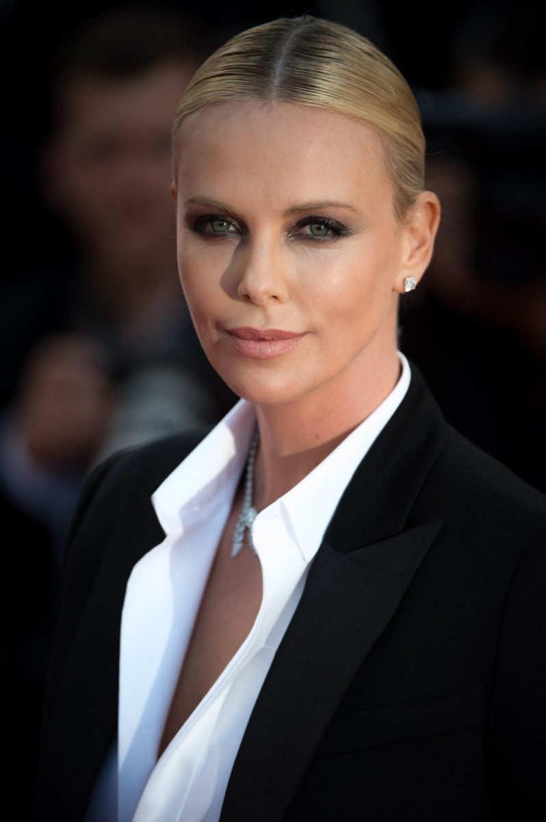 Charlize Theron, The Last Face Cannes premiere, 2016