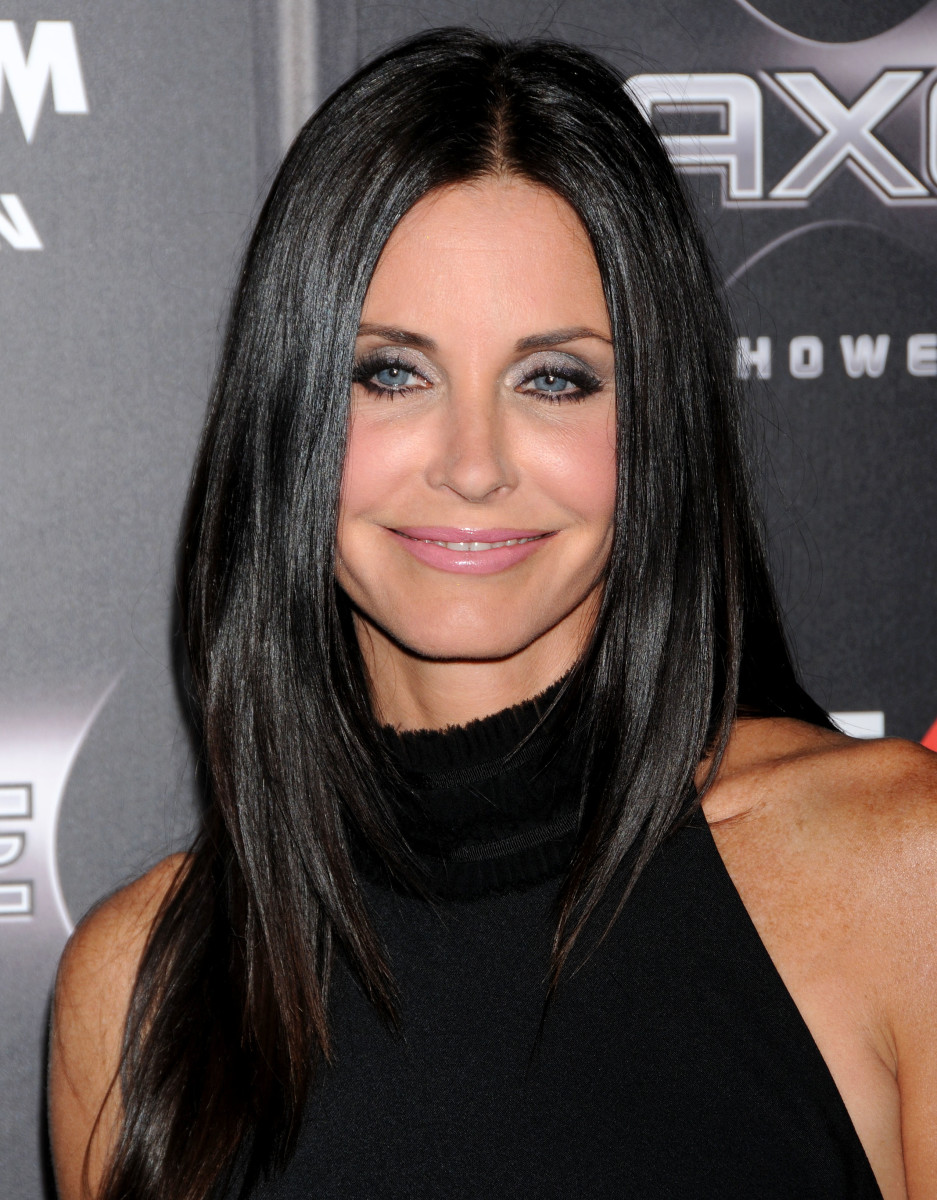 Courteney Cox, Scream 4 premiere, 2011