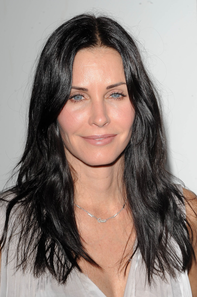 Courteney Cox, EBMRF and PlayStation Epic Halloween Bash, 2012