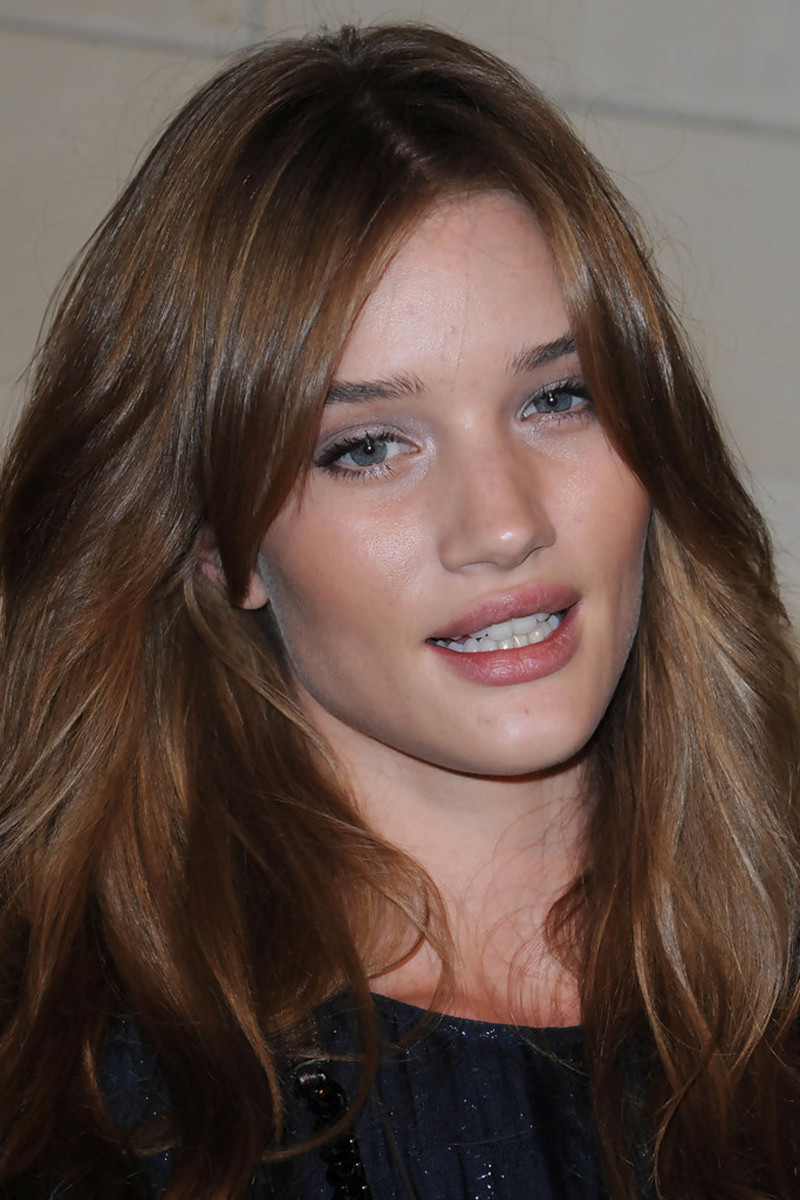 Rosie Huntington-Whiteley, Burberry store re-opening party, 2008