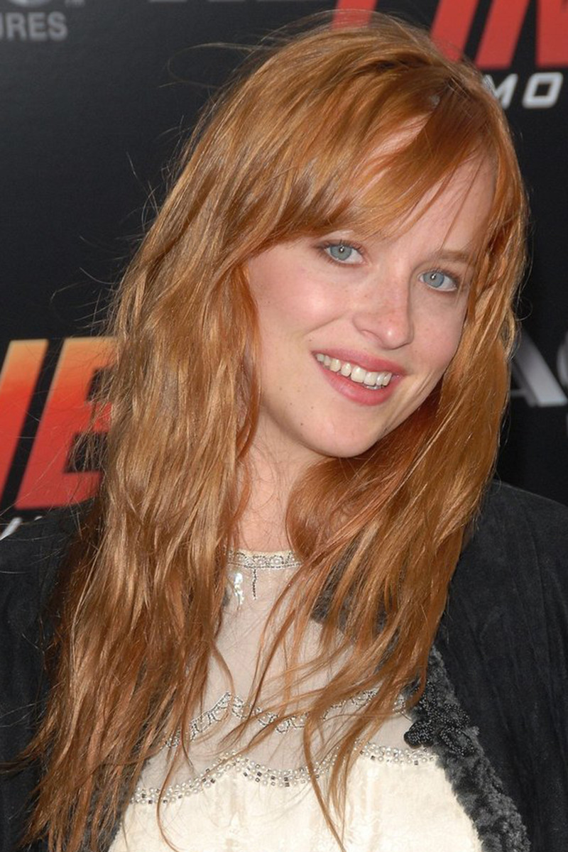 Dakota Johnson, Redline premiere, 2007