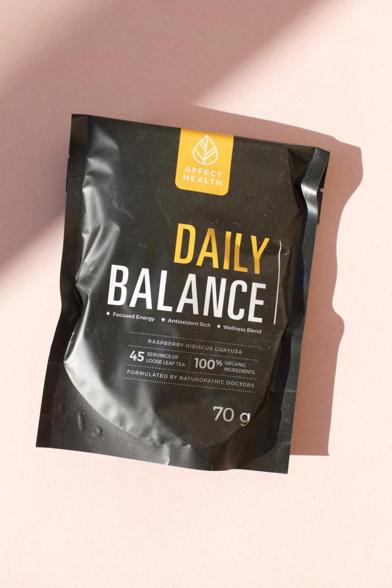 Affect Health Daily Balance Loose Leaf Wellness Tea