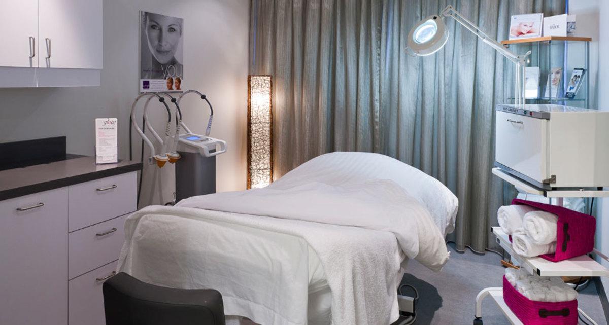 Glow MediSpa treatment room