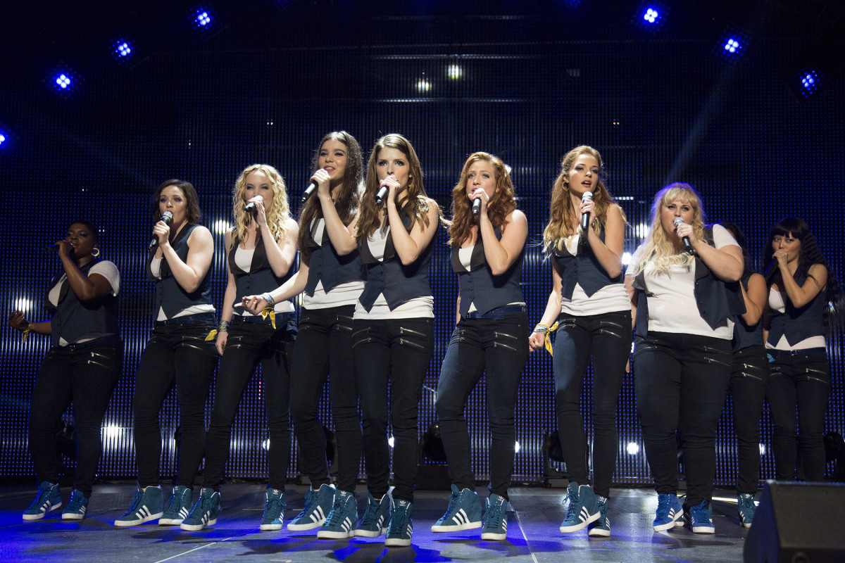 Pitch Perfect 2 performance scene