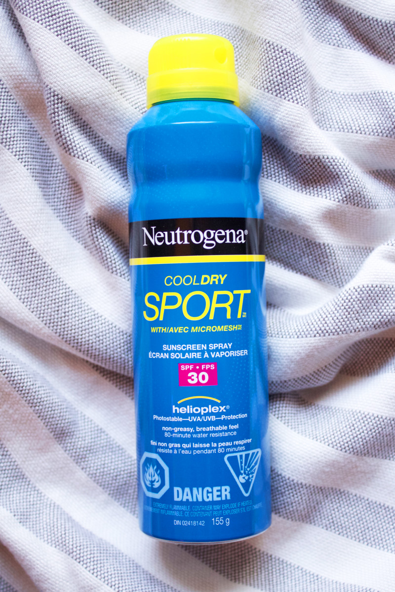 Neutrogena CoolDry Sport Sunscreen Spray SPF 30