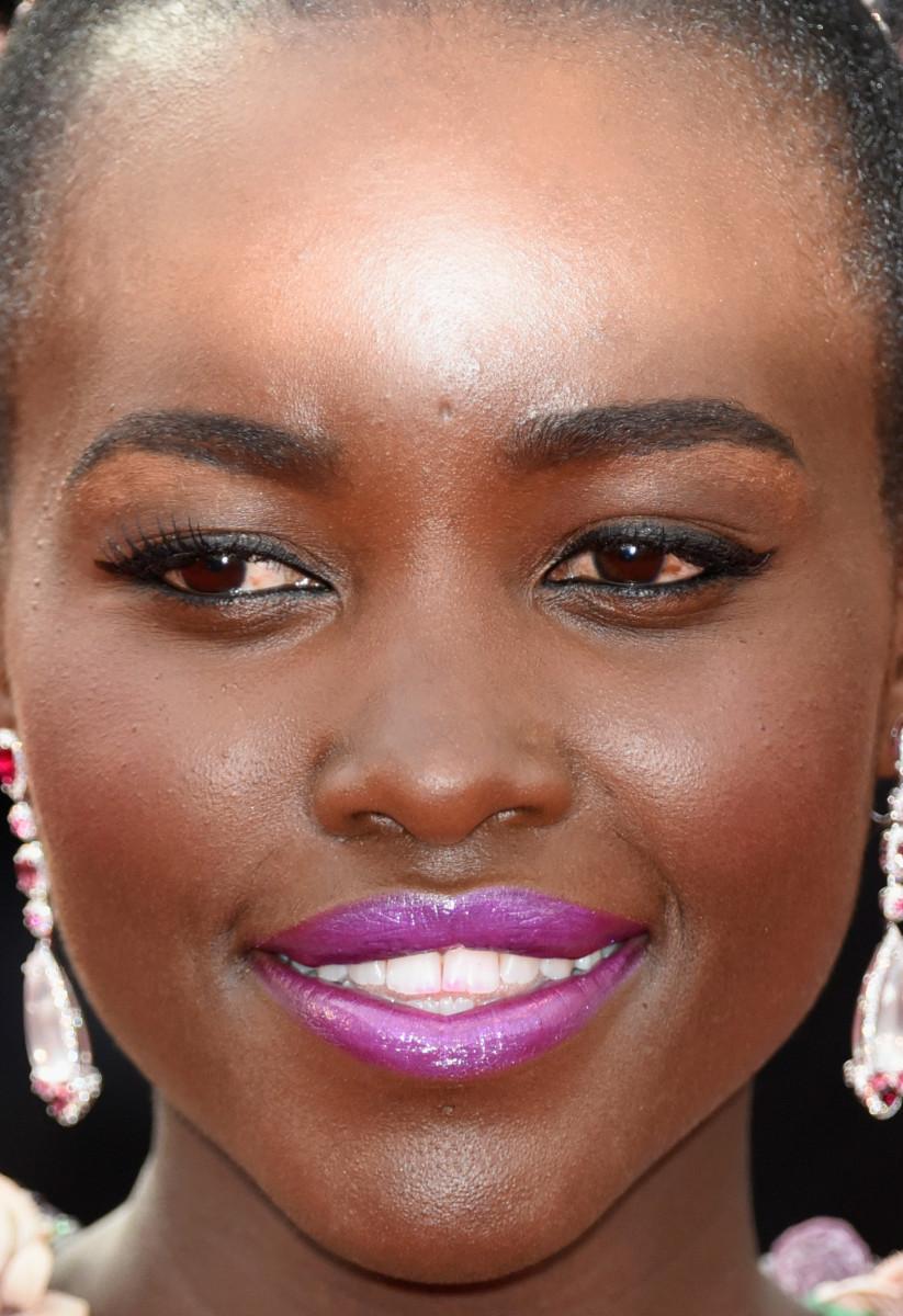 Lupita Nyong'o, La Tete Haute premiere, Cannes 2015