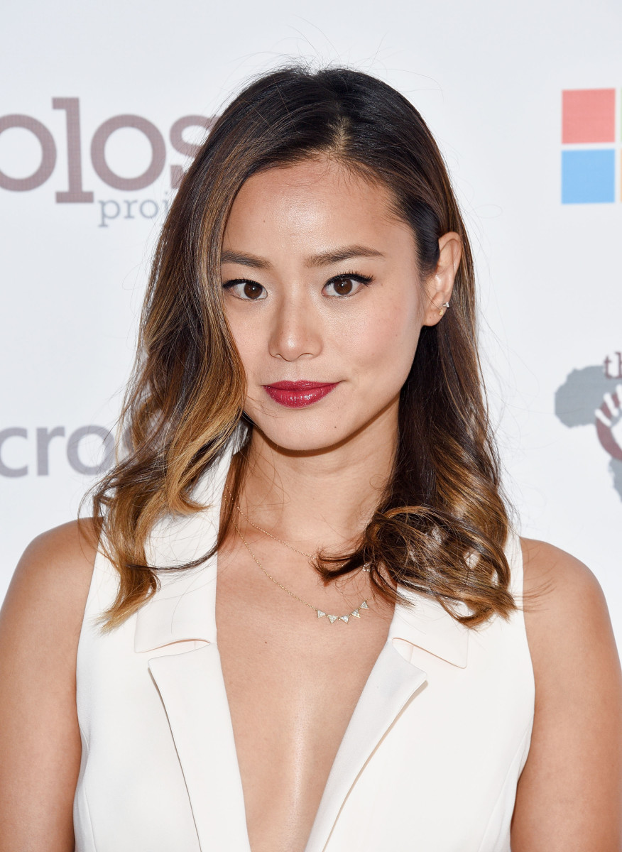 Jamie Chung, Olevolos Project brunch, 2015