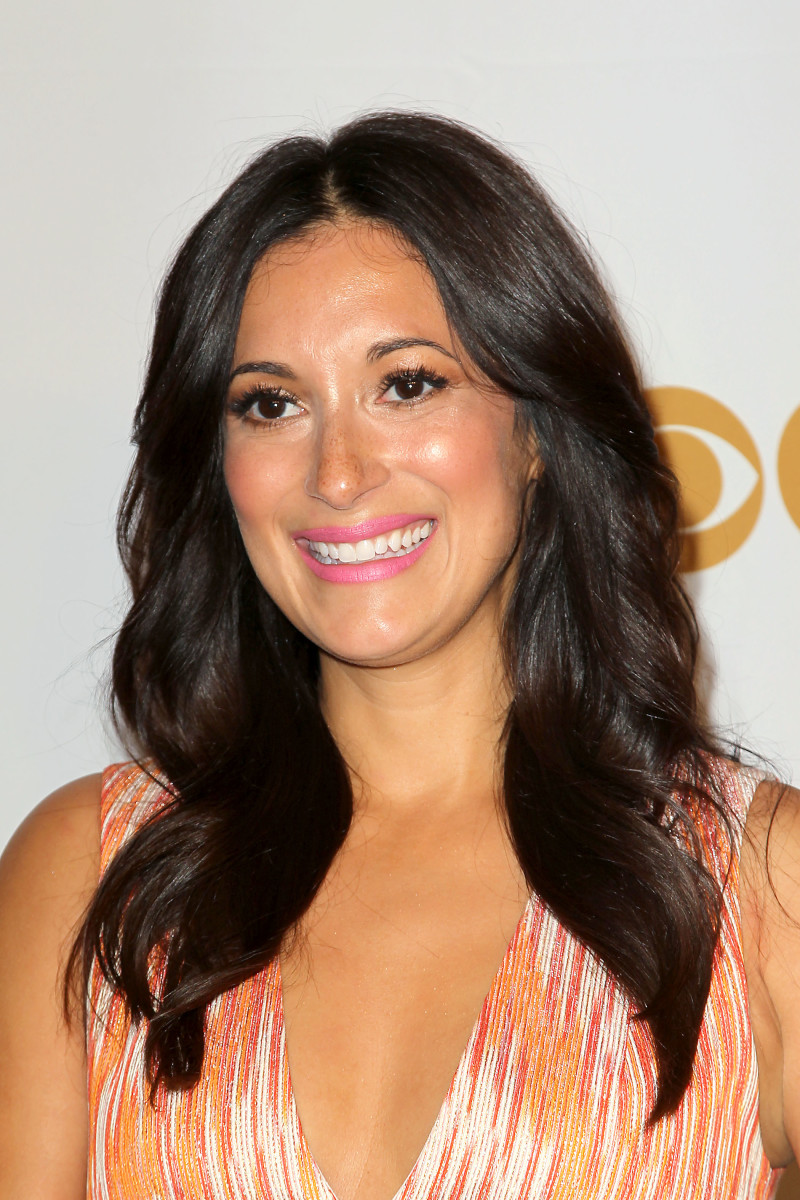 Angelique Cabral, CBS upfronts, 2015