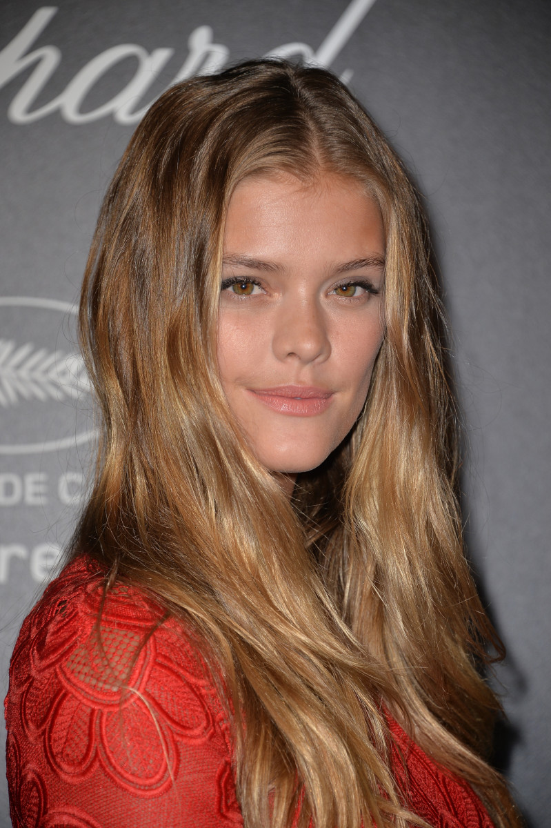 Nina Agdal, Chopard Gold party, Cannes 2015