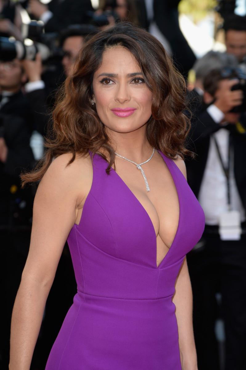 Salma Hayek, Carol screening, Cannes 2015