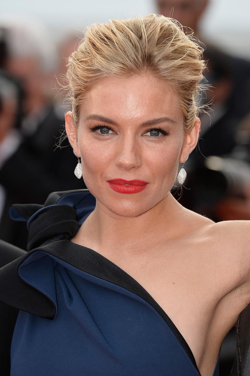 Sienna Miller, La Tete Haute premiere, Cannes 2015