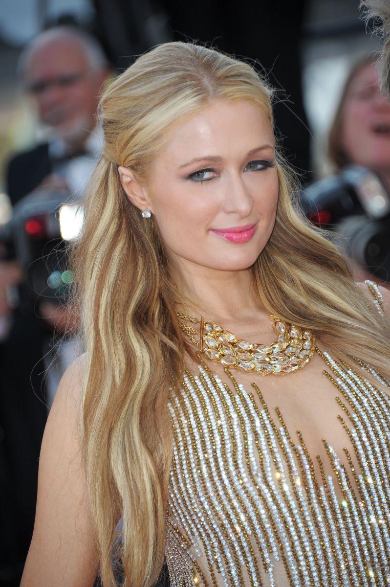 Paris Hilton, Inside Out premiere, Cannes 2015