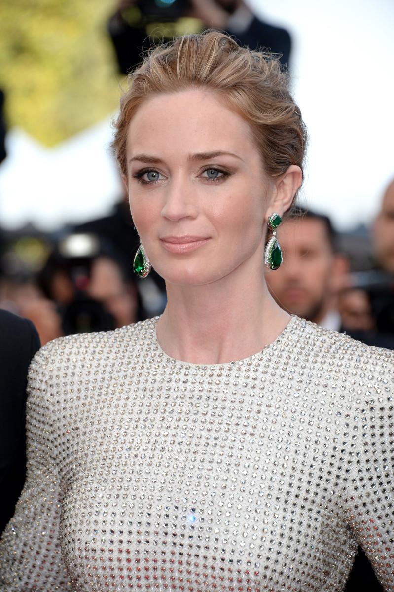 Emily Blunt, Sicario premiere, Cannes 2015