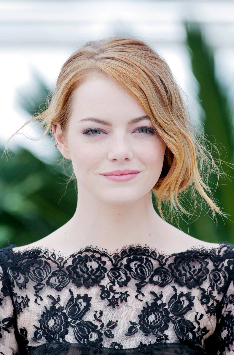 Emma Stone, Irrational Man photocall, Cannes 2015