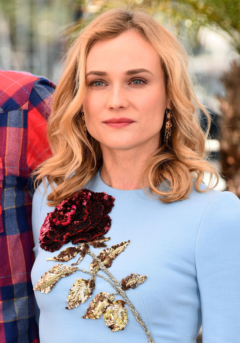 Diane Kruger, Disorder photocall, Cannes 2015
