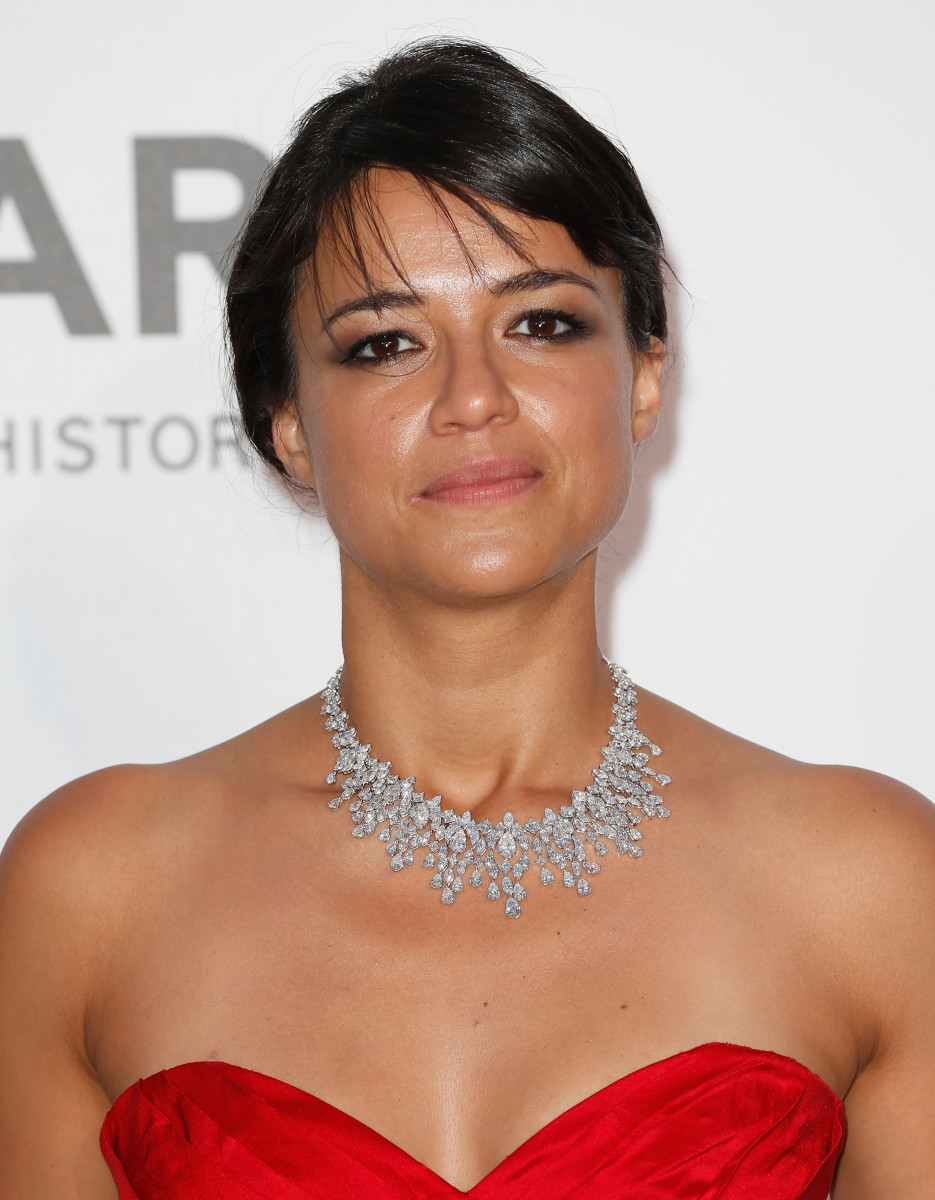 Michelle Rodriguez, amfAR Cinema Against AIDS Gala, Cannes 2015