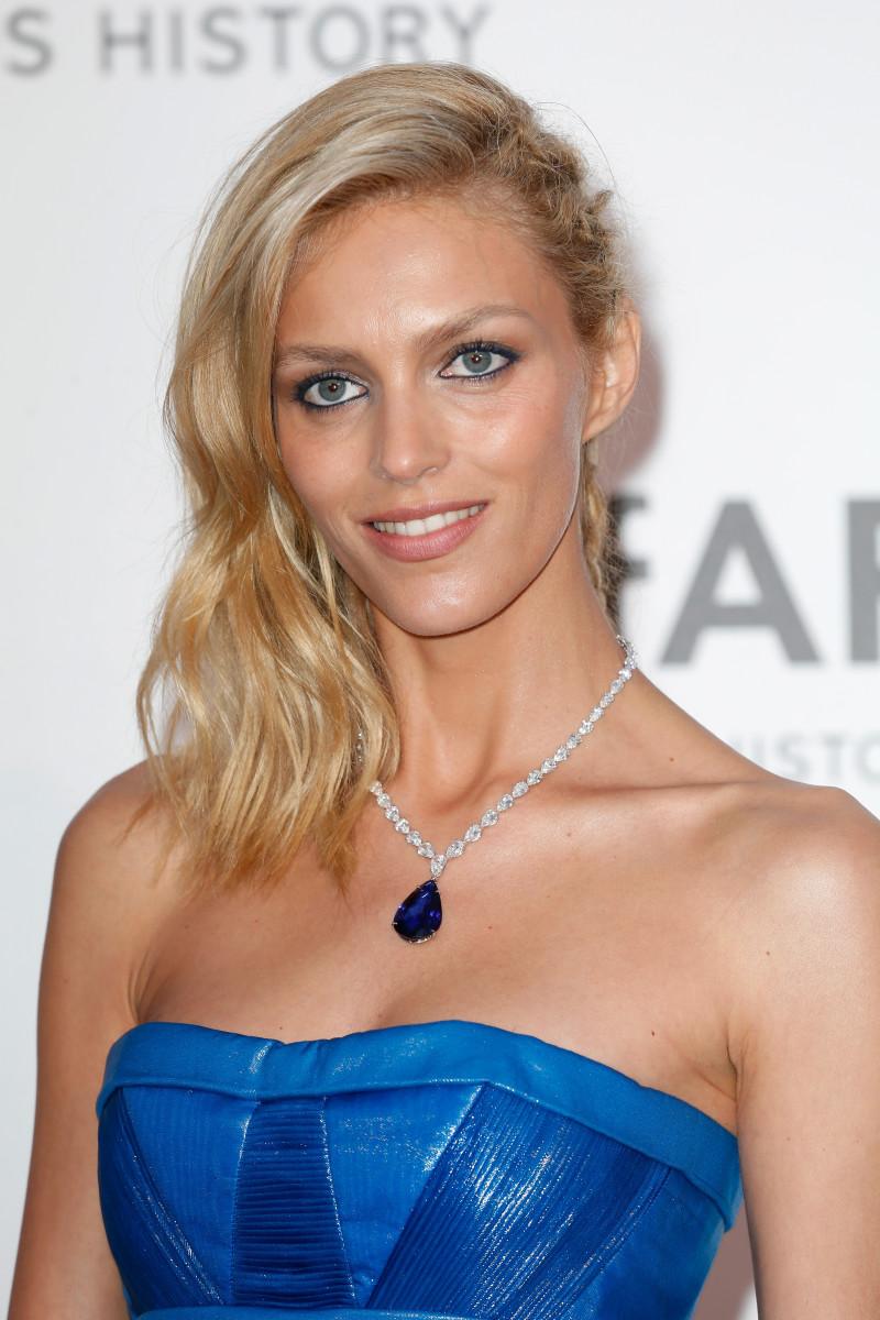 Anja Rubik, amfAR Cinema Against AIDS Gala, Cannes 2015