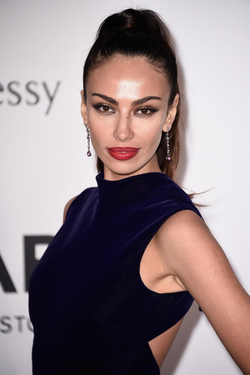 Madalina Ghenea, amfAR Cinema Against AIDS Gala, Cannes 2015