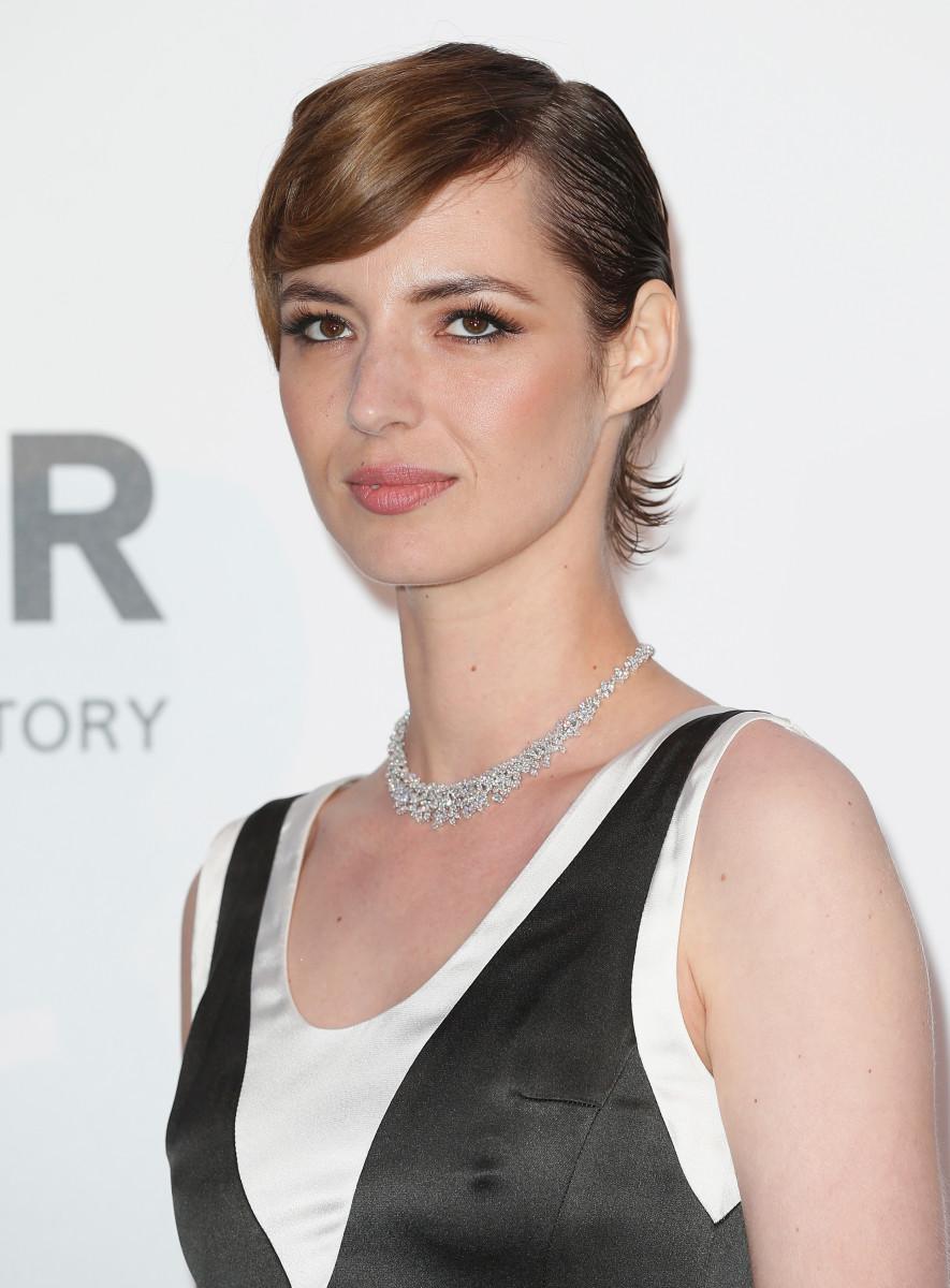 Louise Bourgoin, amfAR Cinema Against AIDS Gala, Cannes 2015
