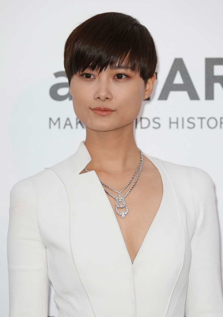 Li Yuchun, amfAR Cinema Against AIDS Gala, Cannes 2015