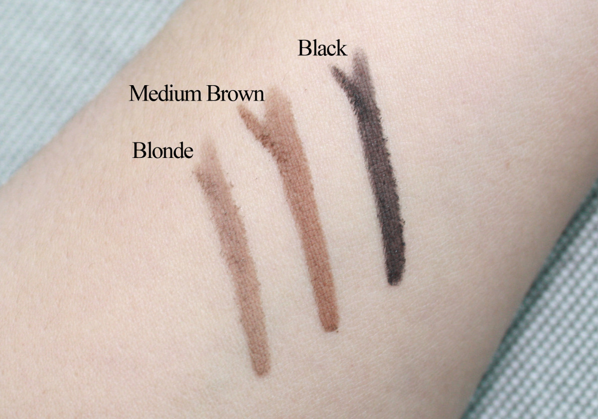 CoverGirl Brow Powder (swatches)