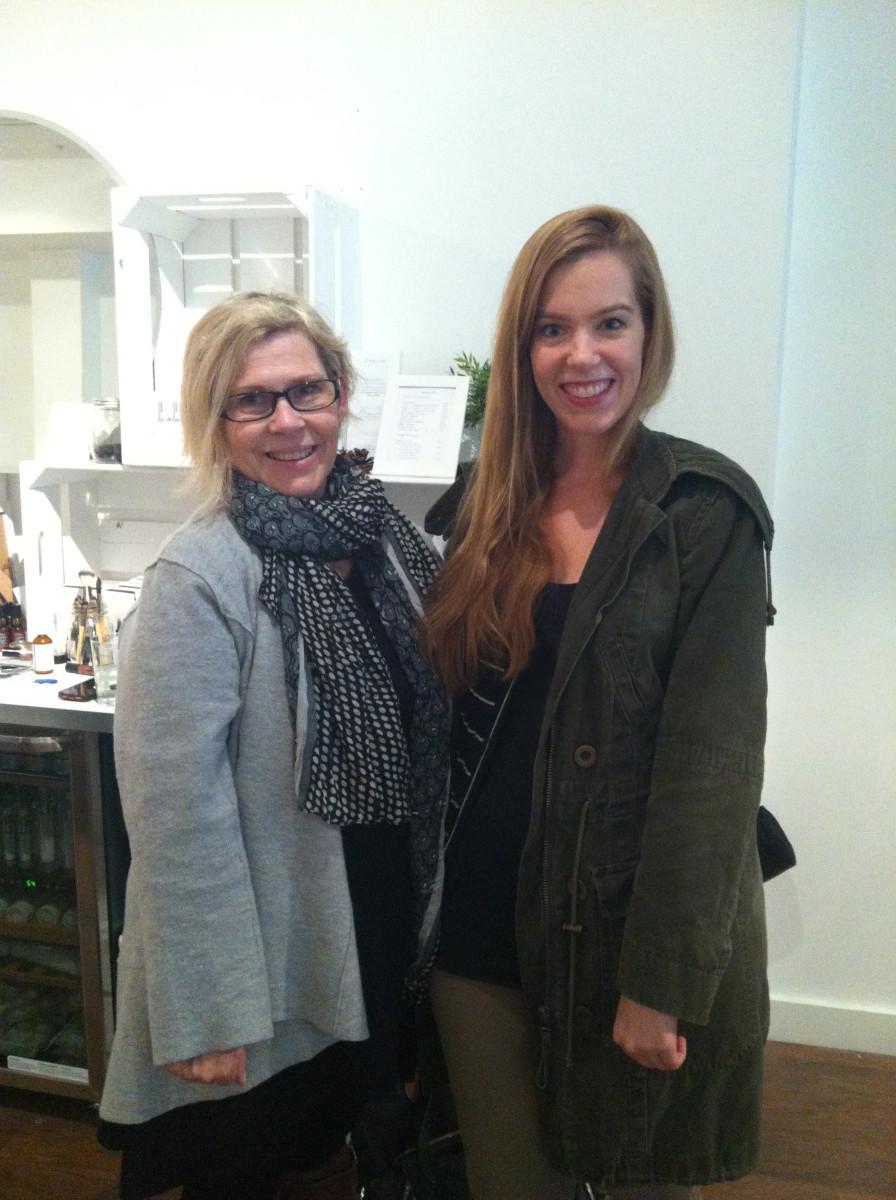 JoAnn Fowler and Beauty Editor
