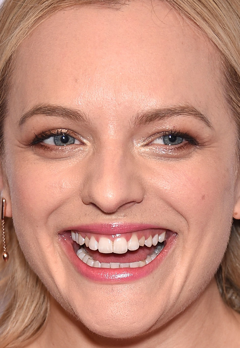 Elisabeth Moss, Red Nose Day Charity Event, 2015
