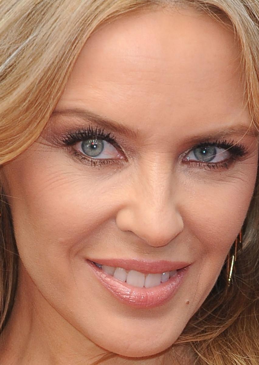 Kylie Minogue, San Andreas premiere, 2015