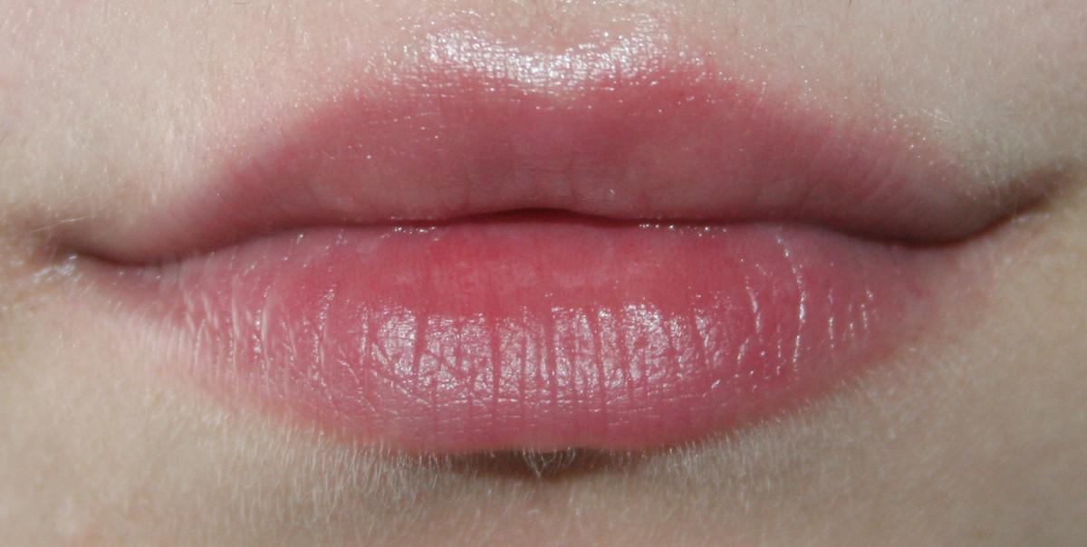 After using a lip scrub