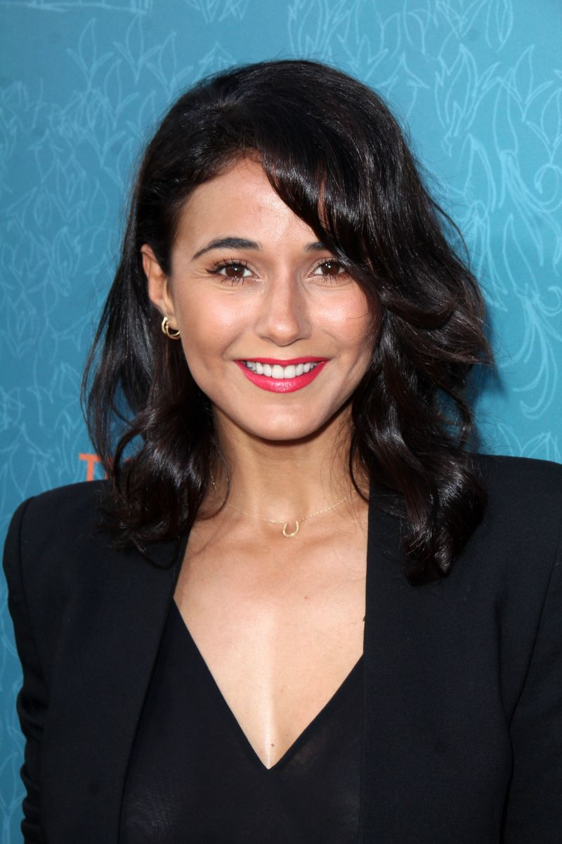 Emmanuelle Chriqui, Me and Earl and the Dying Girl premiere, 2015