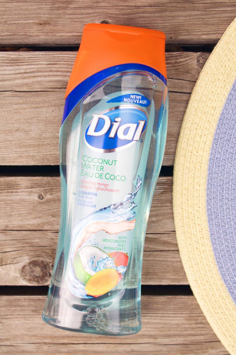 Dial Coconut Water Refreshing Mango Hydrating Body Wash
