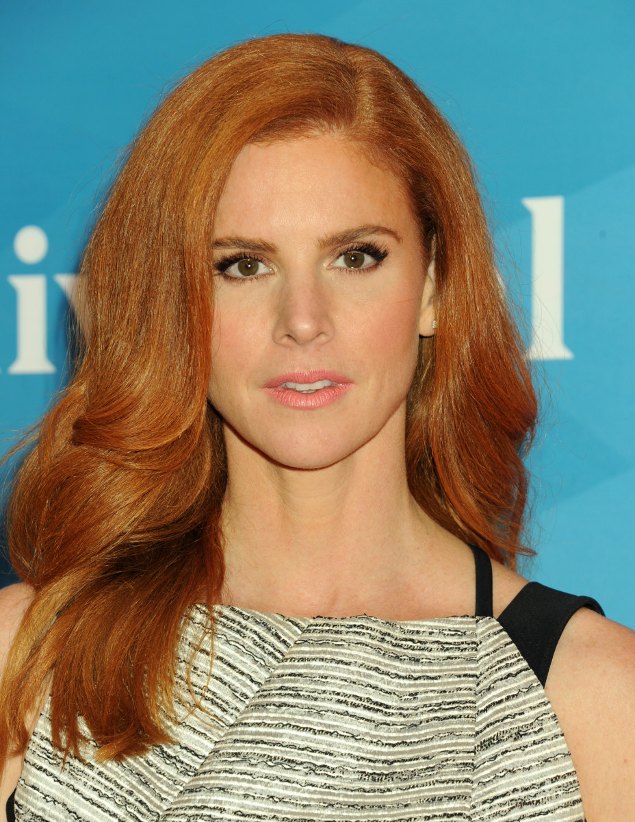 Sarah Rafferty, NBC New York Summer Press Day, 2015