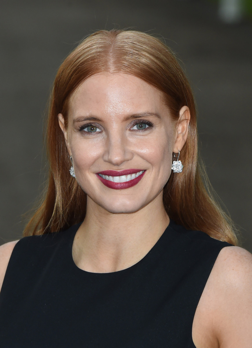 Jessica Chastain, Vogue and Ralph Lauren Wimbledon party, 2015