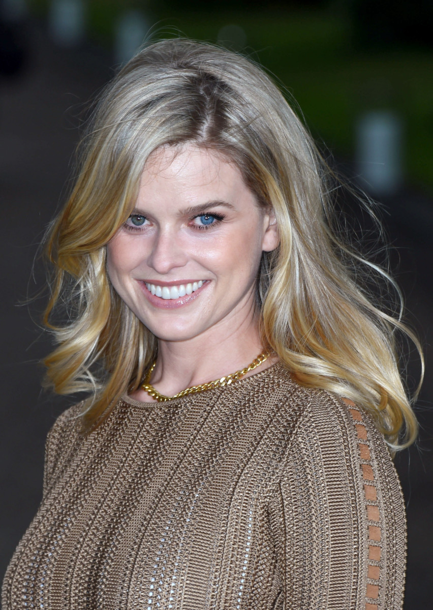 Alice Eve, Vogue and Ralph Lauren Wimbledon party, 2015