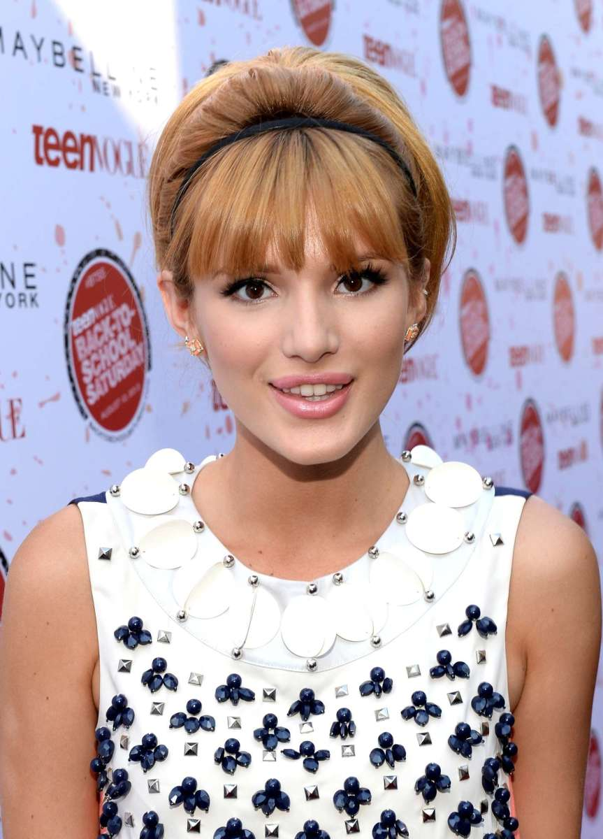 Bella Thorne, Teen Vogue Back to School event, 2013