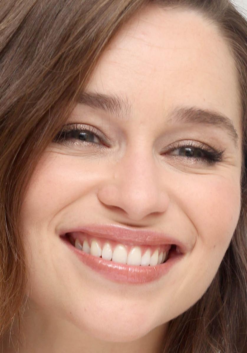 Emilia Clarke, Terminator Genisys press conference, 2015