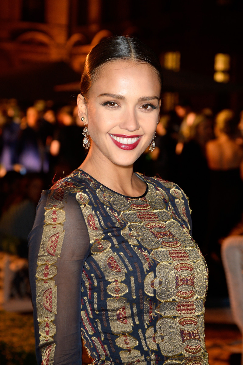 Jessica Alba, Tory Burch Paris flagship store opening, 2015