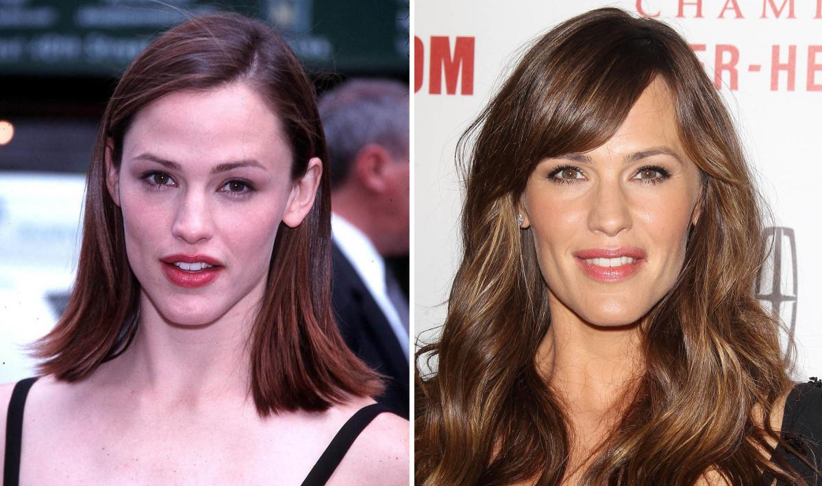 Jennifer Garner before and after