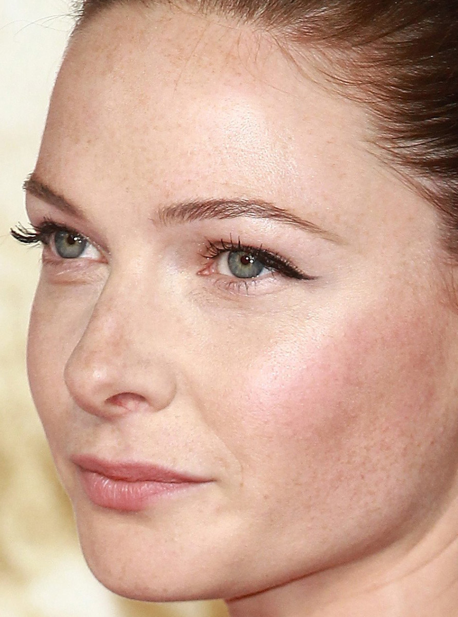 Rebecca Ferguson, Mission Impossible Rogue Nation London premiere, 2015