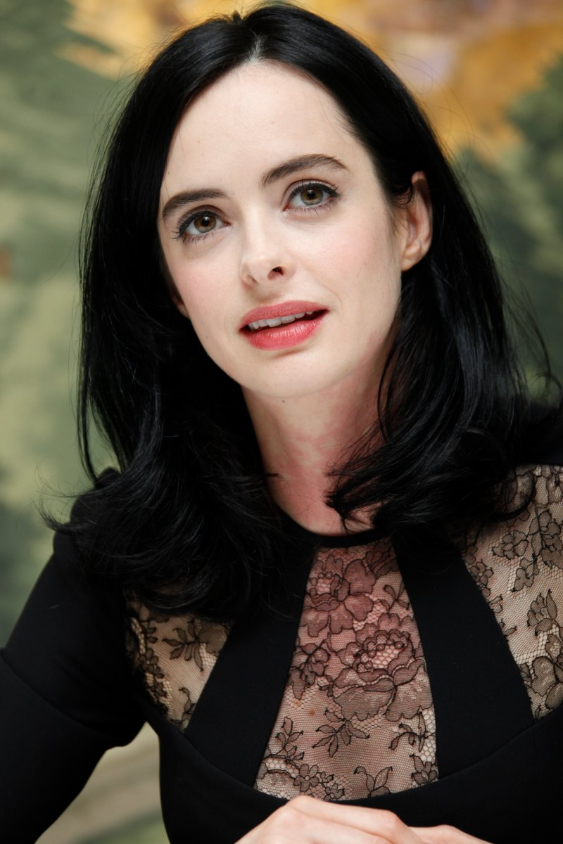 Krysten Ritter, Jessica Jones press conference, 2015