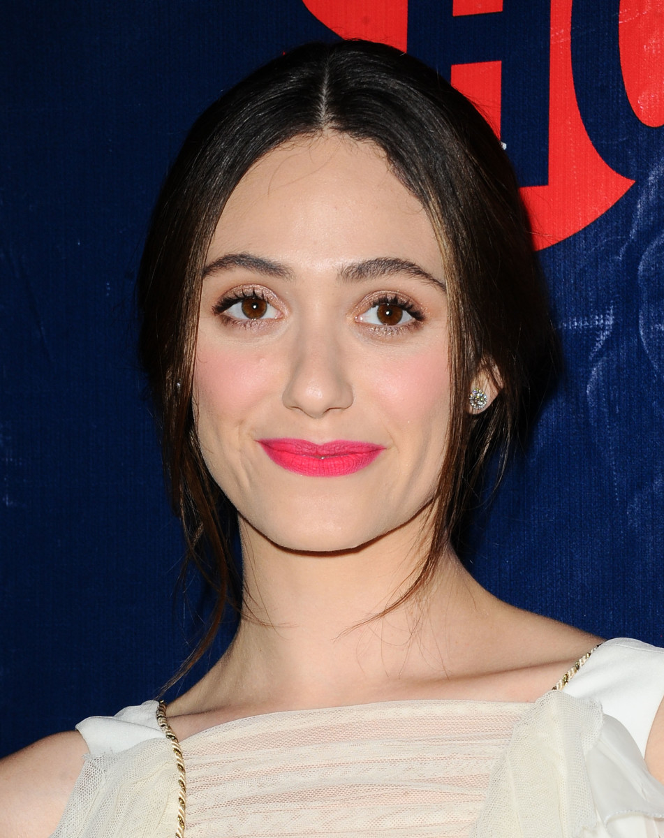 Emmy Rossum, CBS, Showtime and The CW Summer TCA Tour party, 2015