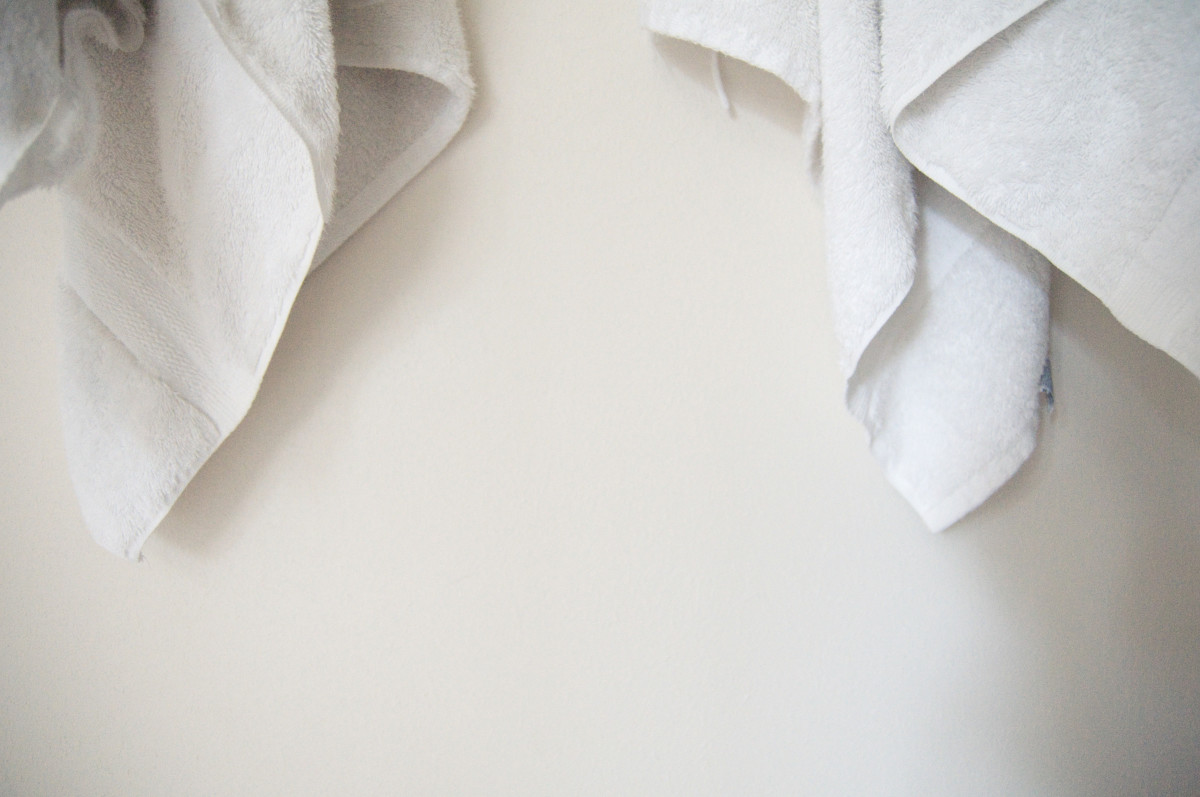Clean towel method