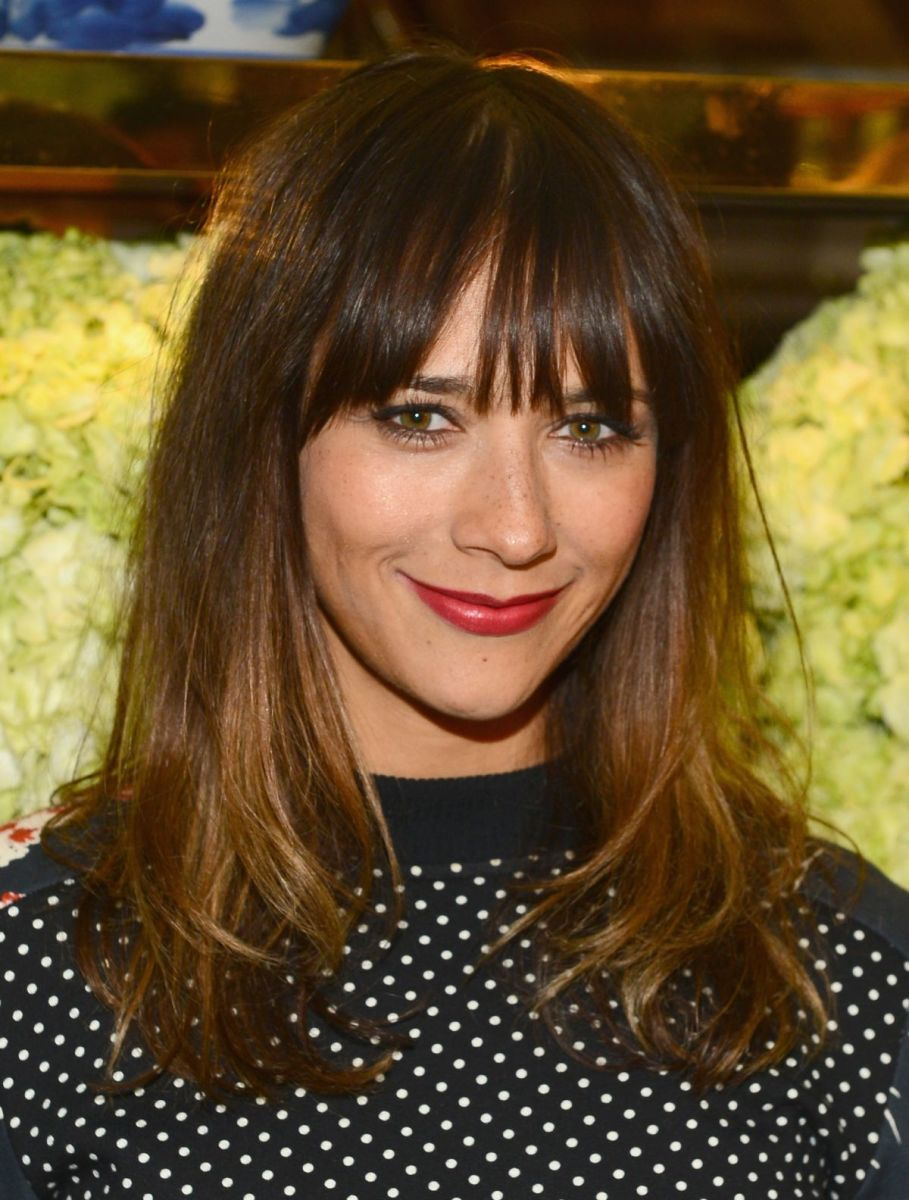 Rashida Jones, Tory Burch flagship opening, 2014