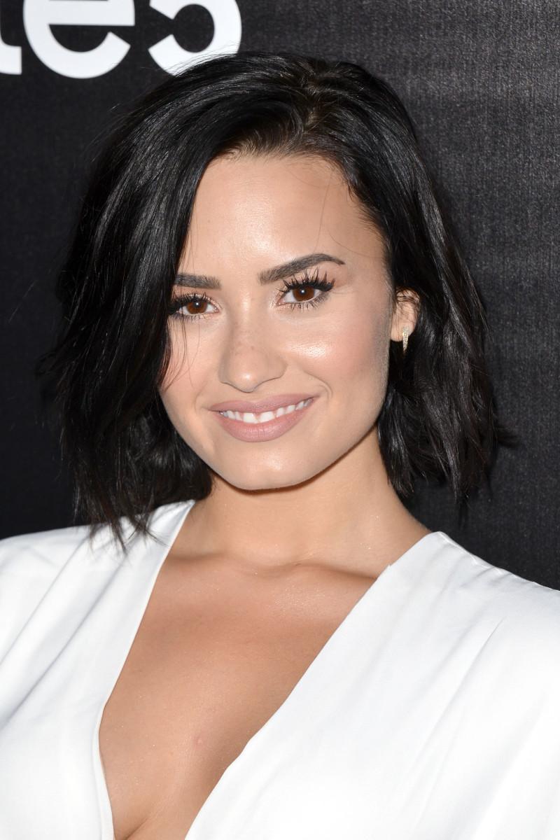 Demi Lovato, Samsung launch party, 2015