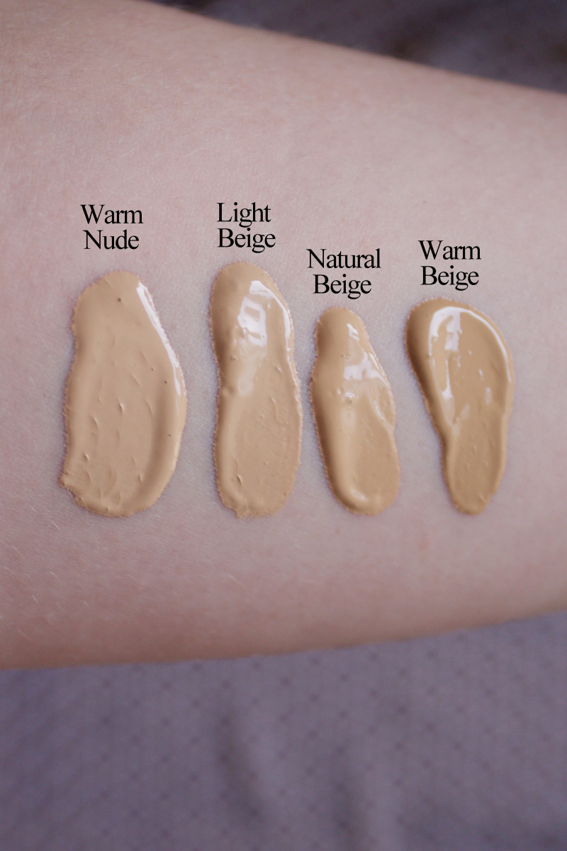 Too Faced Born This Way swatches 5-8