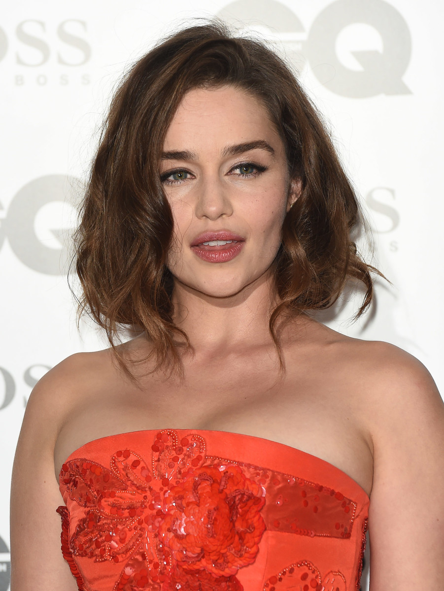 Emilia Clarke, GQ Men of the Year Awards 2015