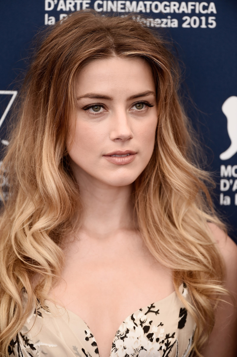 Amber Heard, The Danish Girl Venice photocall, 2015