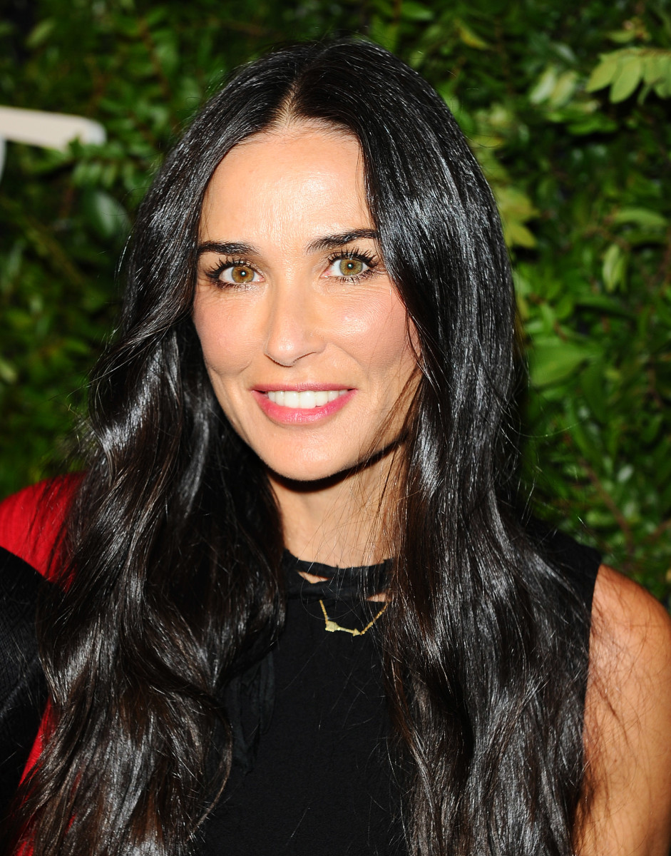 Demi Moore, Salvatore Ferragamo 100th year celebration, 2015